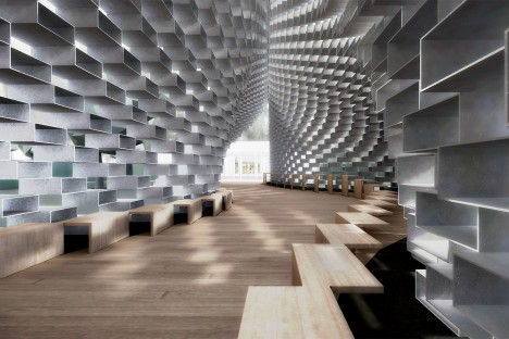 BIG, Bjarke Ingels Group, Serpentine Gallery Pavilion 3D VR model