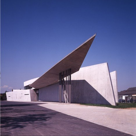 "Visiting Zaha Hadid's Vitra Fire Station was an ""eye-opening experience,"" says Bjarke Ingels"