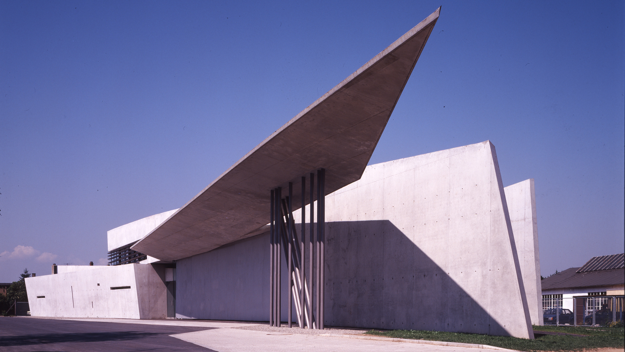 Vitra Fire Station by Zaha Hadid