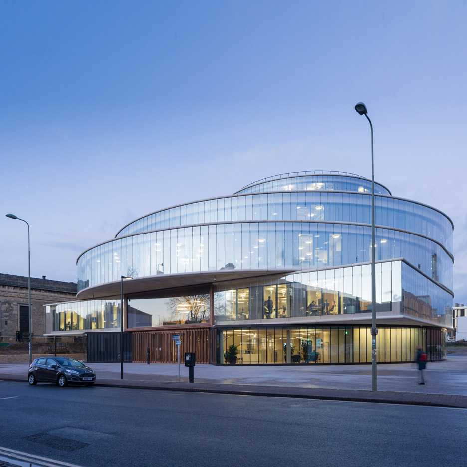 Blavatnik School of Government by Herzog & de Meuron.