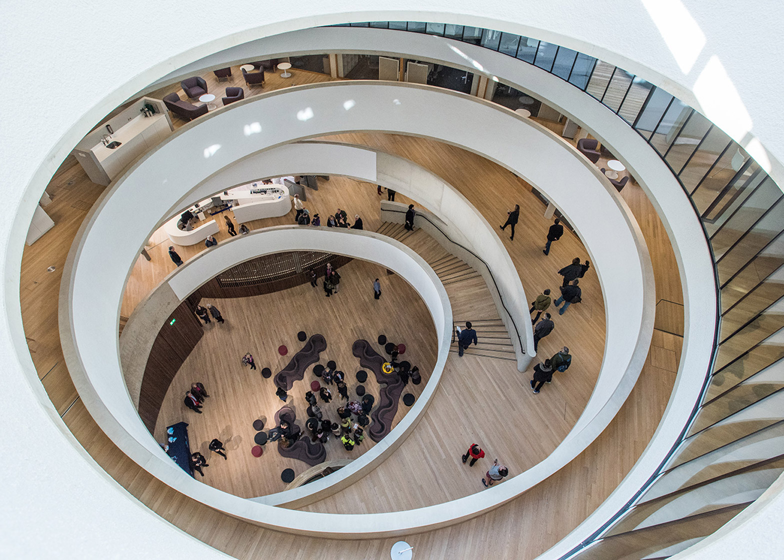 Blavatnik School of Government by Herzog & de Meuron. Photograph courtesy of the architects