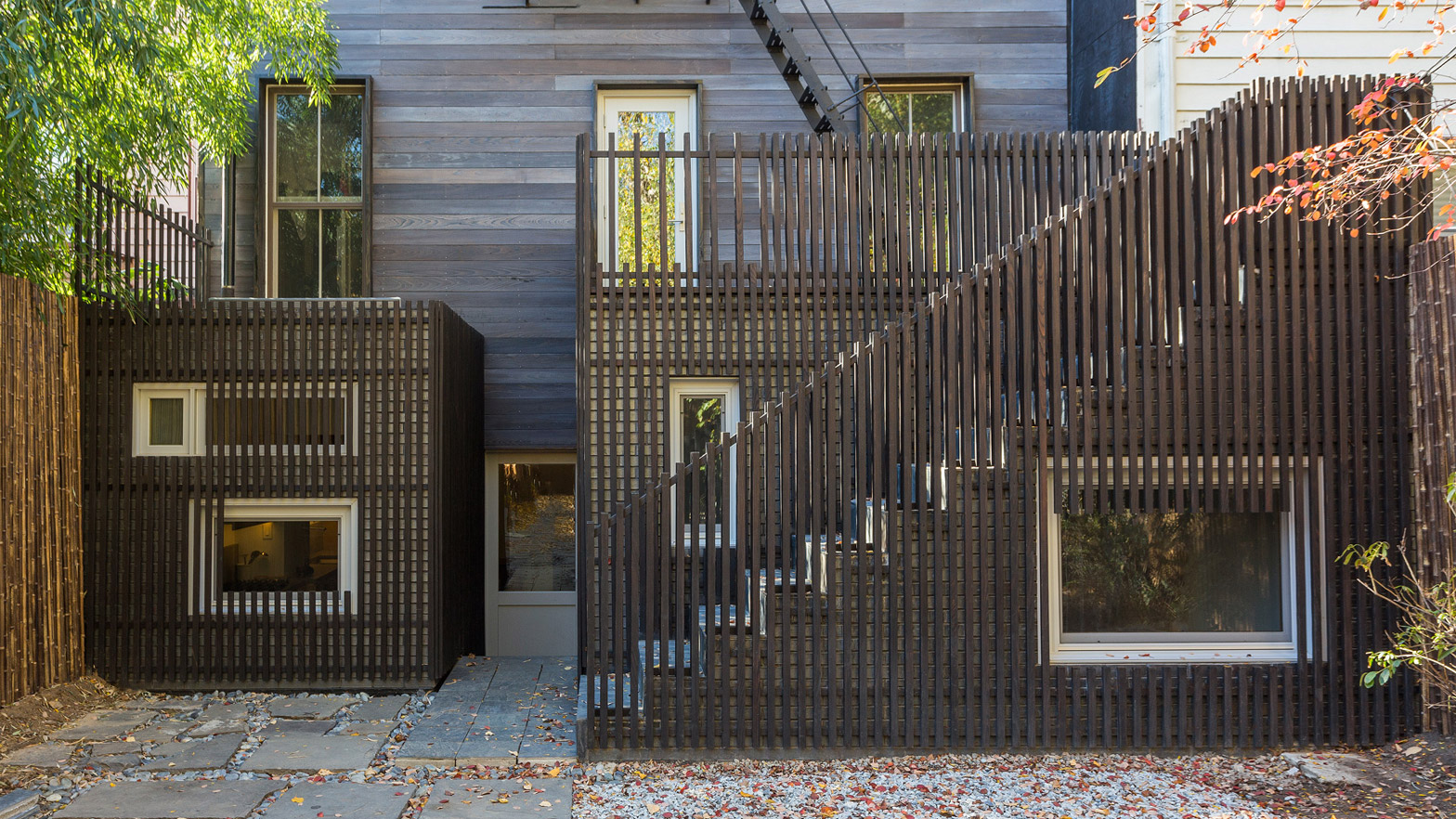 Architensions Clads Brooklyn Townhouse In Charred Wood