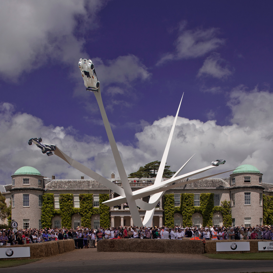 bmw goodwood sculpture gerry judah festival of speed