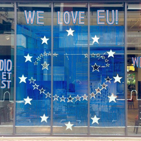 """We love EU"" declare UK architects and designers ahead of referendum"