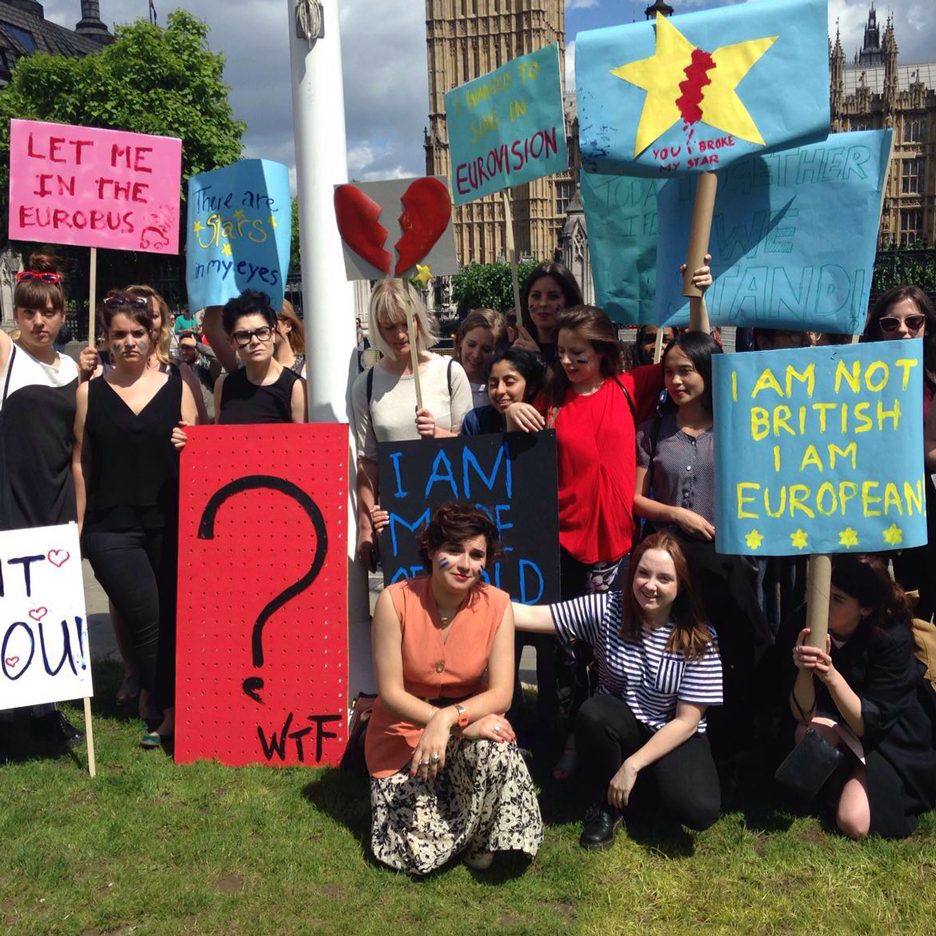 Designers and students to protest in Trafalgar Square as threats to Erasmus programme emerge