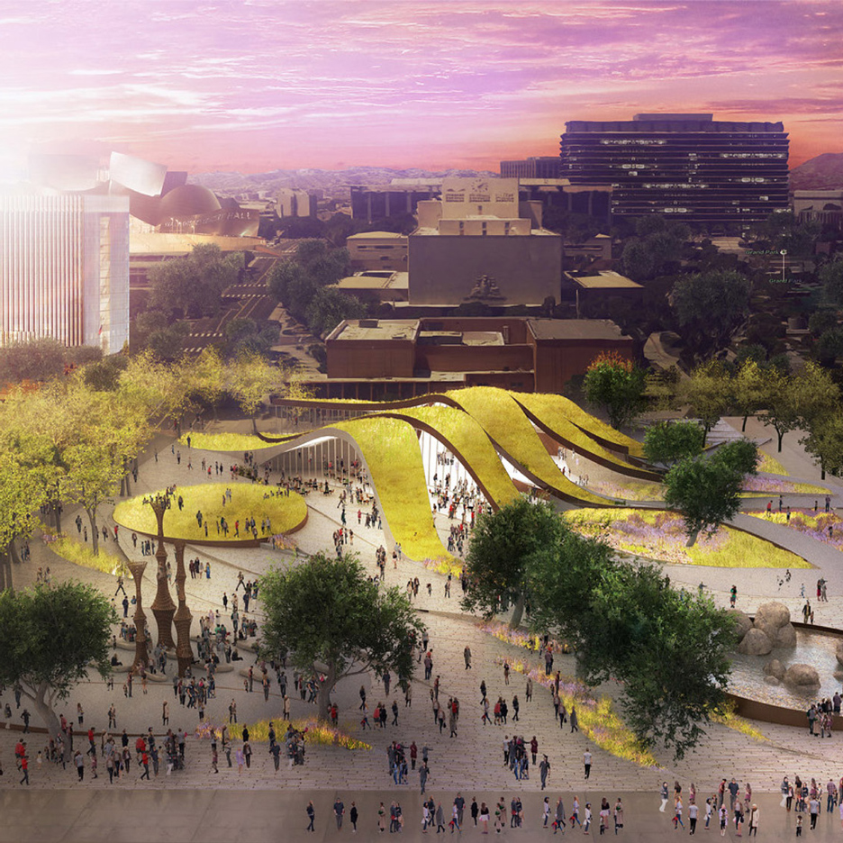 Brooks Scarpa Architects proposal for FAB Park in LA