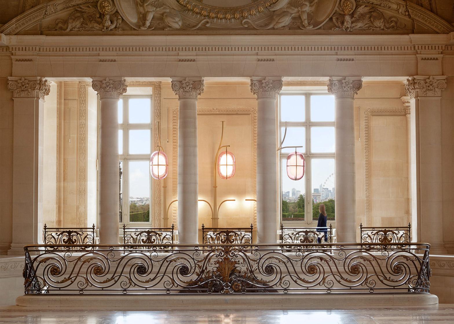 Mathieu Lehanneur renovates interior of Louvre\'s Café Mollien