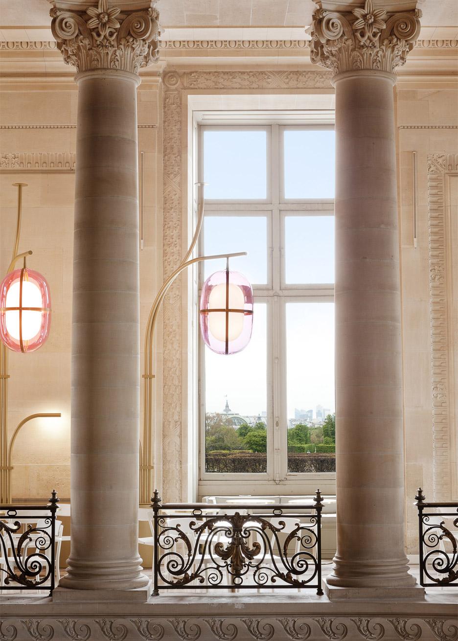 Café Mollien at the Louvre by Mathieu Lehanneur