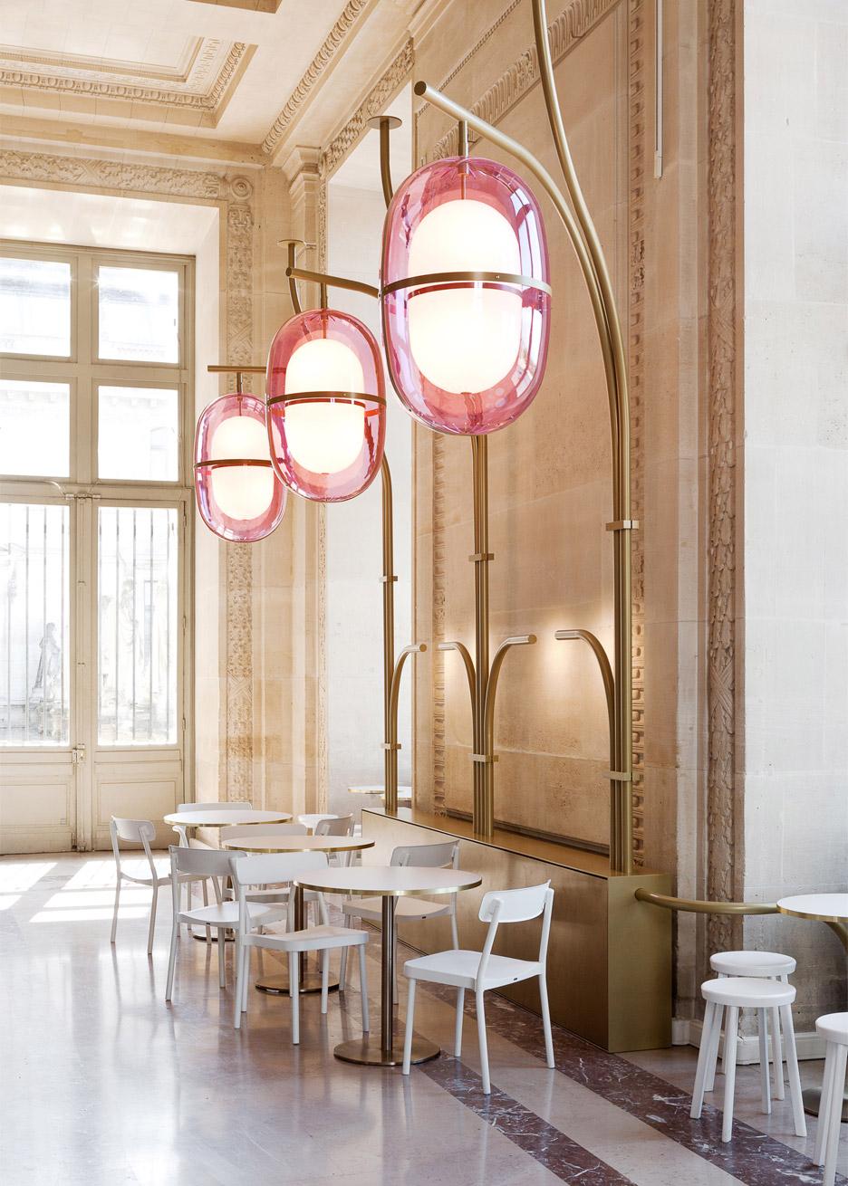 mathieu lehanneur renovates interior of louvre's café mollien