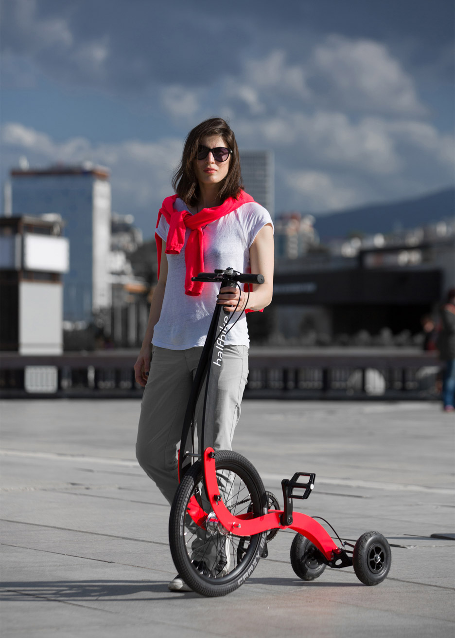 Halfbike 2.1 by Kolelinia, a cycling product design kickstarter that took off