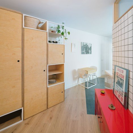 Pyo Arquitectos simplify interior of Casa MA apartment in Madrid