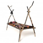 Kiki van Eijk casts branches in bronze for Civilized Primitives furniture collection