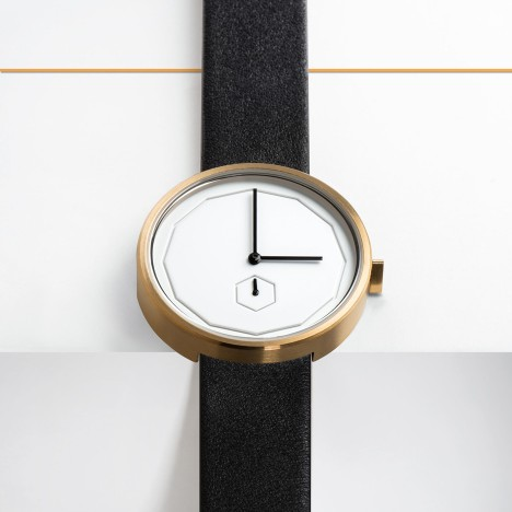 AÃRK's Classic Neu is a watch with a dodecagon-shaped face
