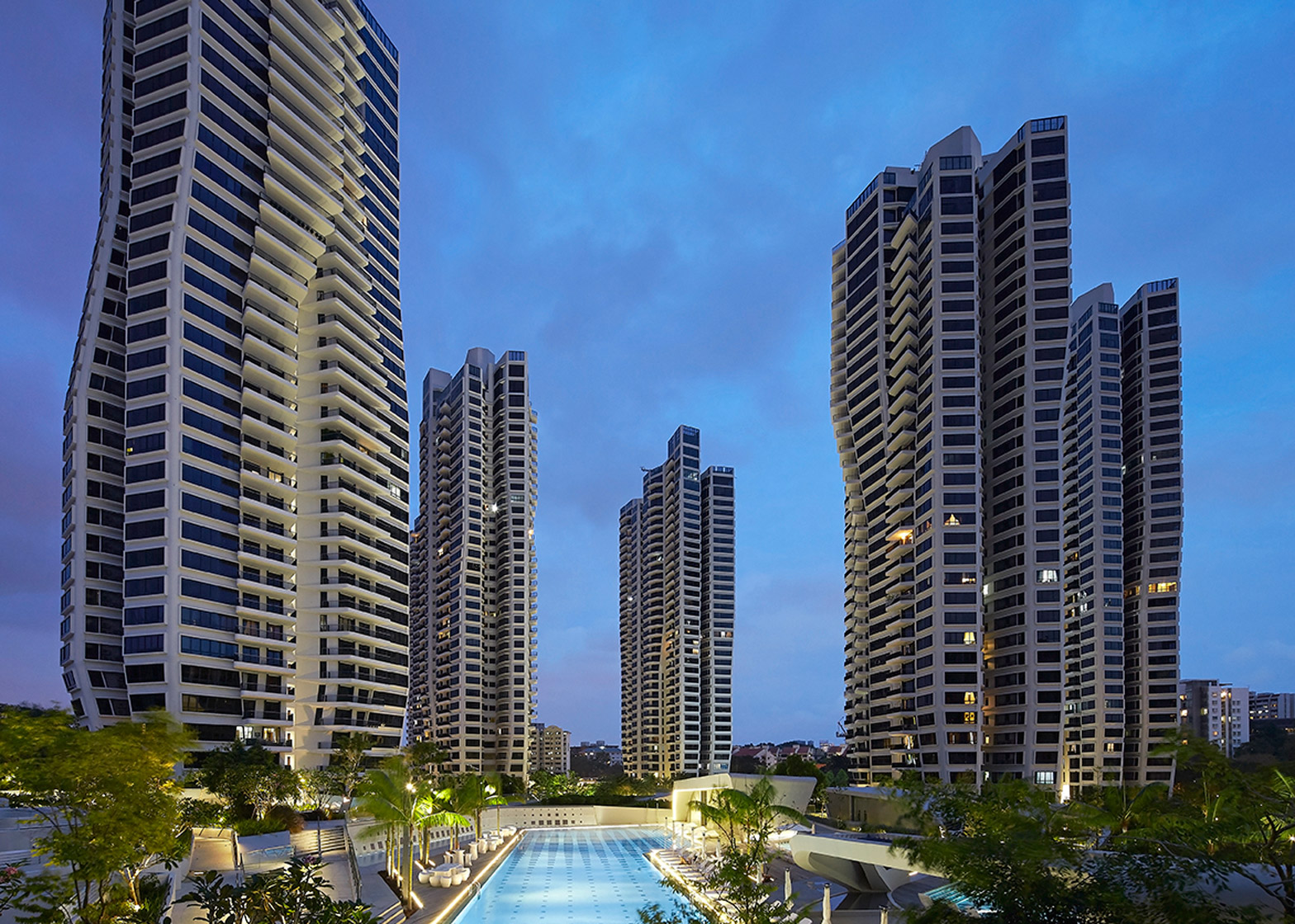 d'Leedon, Singapore, by Zaha Hadid Architects