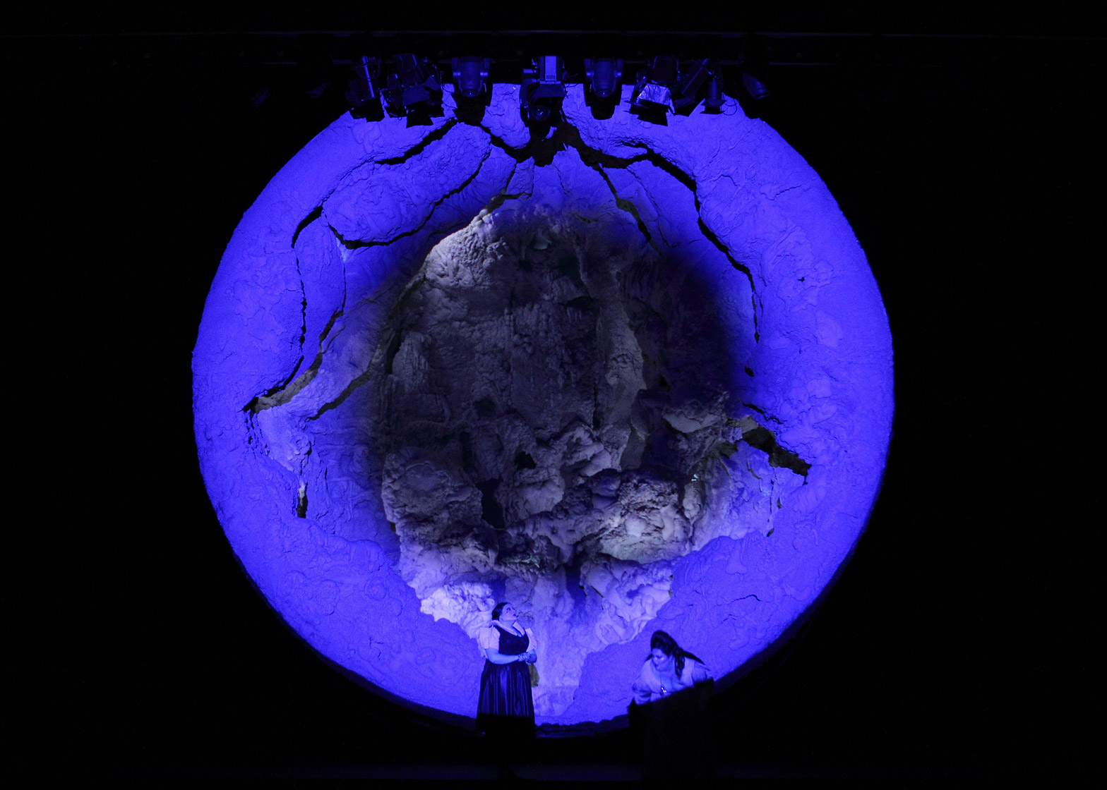 Anish Kapoor designs the set for the English National Opera's production of Tristan and Isolde