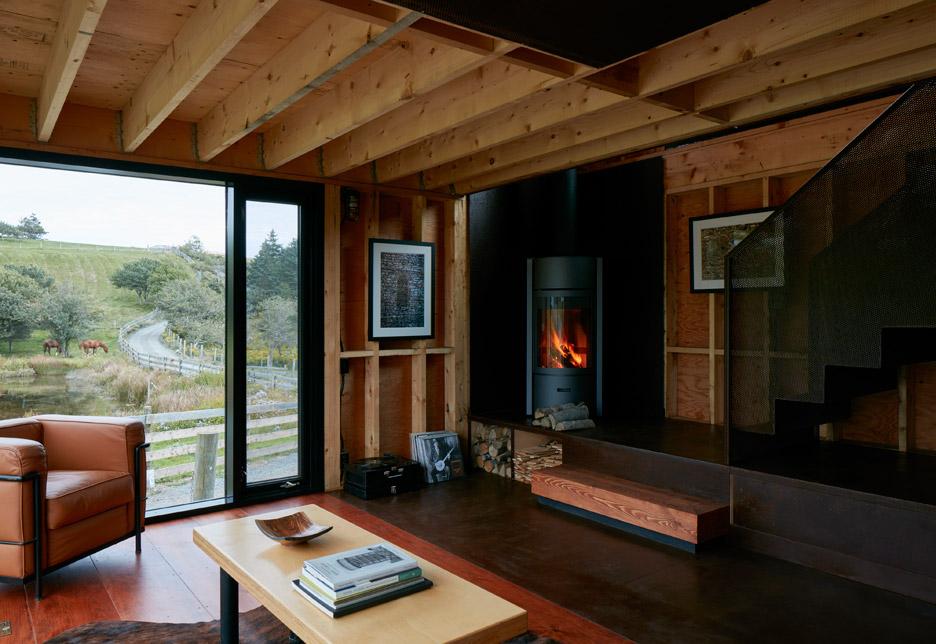 Brian Mackay Lyons Adds Steel Cabin To His Nova Scotia Estate