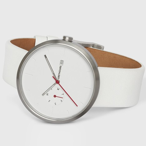 Greyhours' Essential timepieces arrive at Dezeen Watch Store