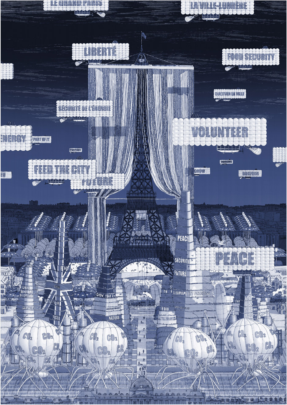 European Union: Referendum to Reimagine by Steve McCloy, a conceptual architecture project from UCL Bartlett