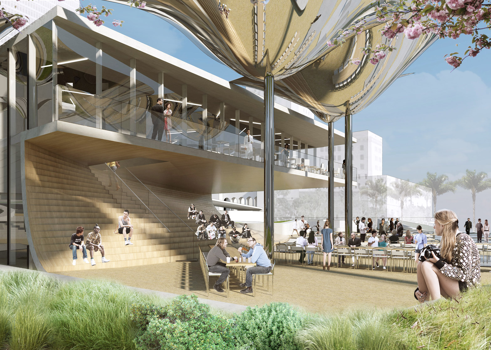 OMA design selected for FAB park in Los Angeles