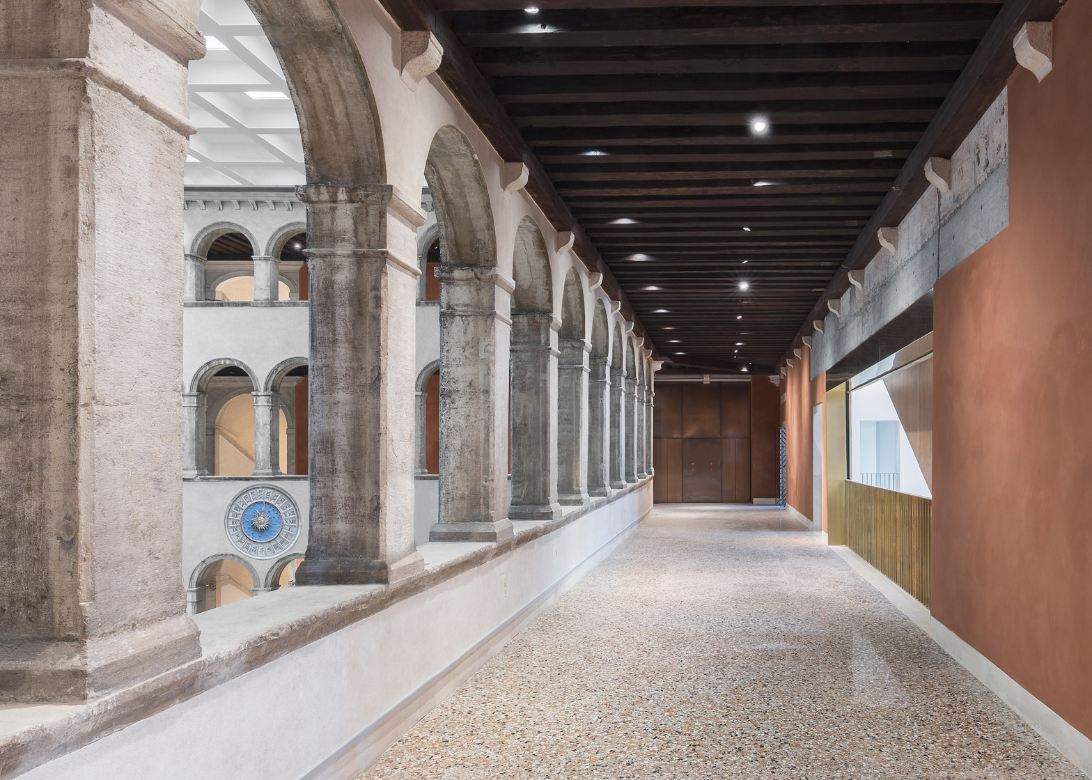OMA restore the Fondaco dei Tedeschi building in Venice and redesign it as a department store