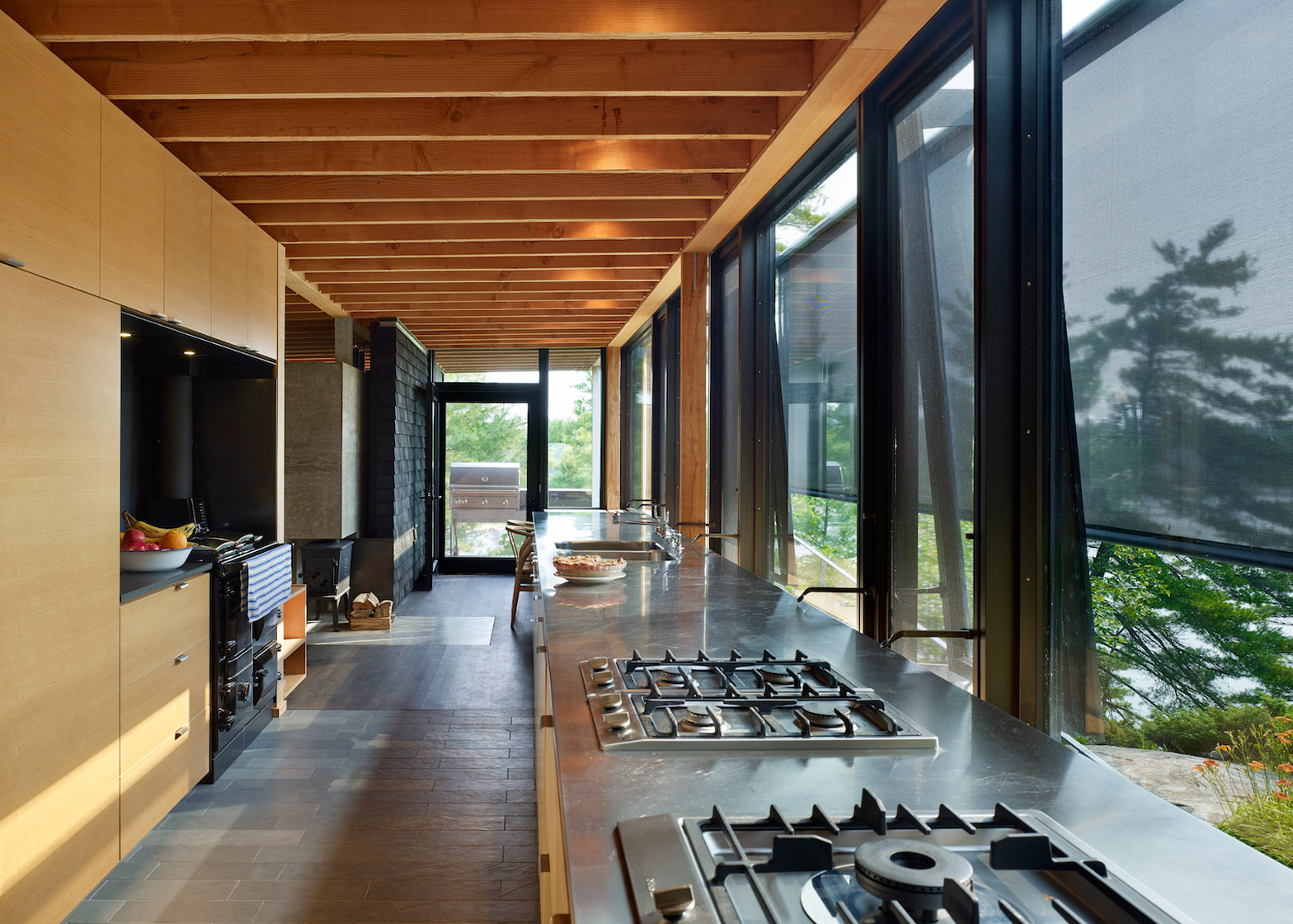 Go Home Cabin, holiday home architecture in Ontario, Canada by Ian Macdonald Architect