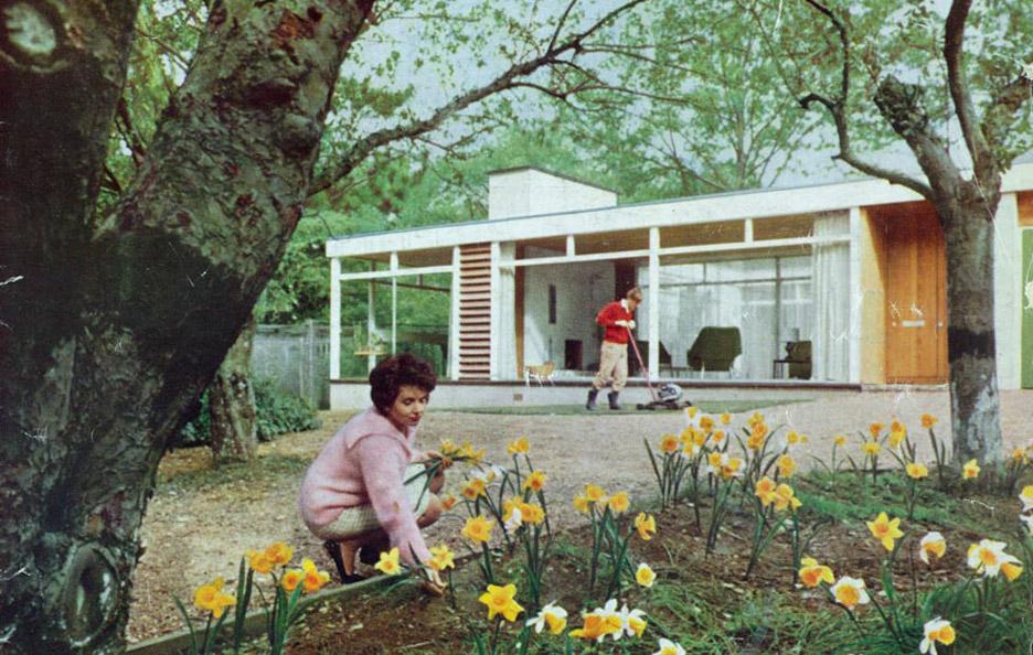 Manser designed his own family residence in Surrey, Golden Grove House, in 1960