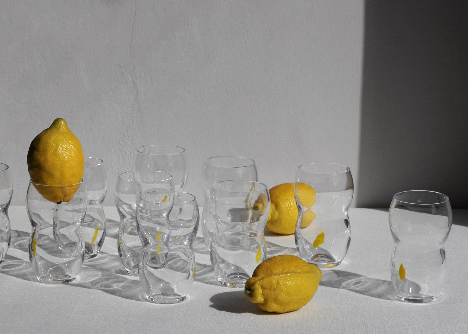 Lemonade Glass by Max Lamb