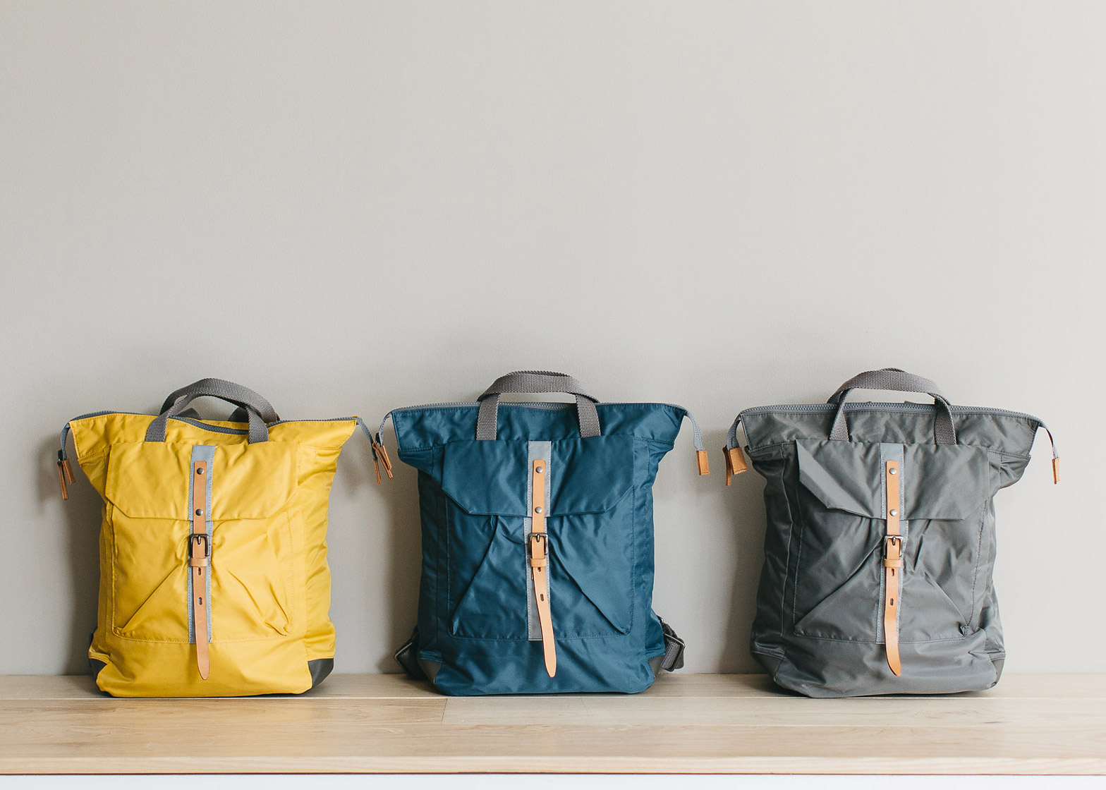 AC x Tokyobike backpack by Ally Capellino