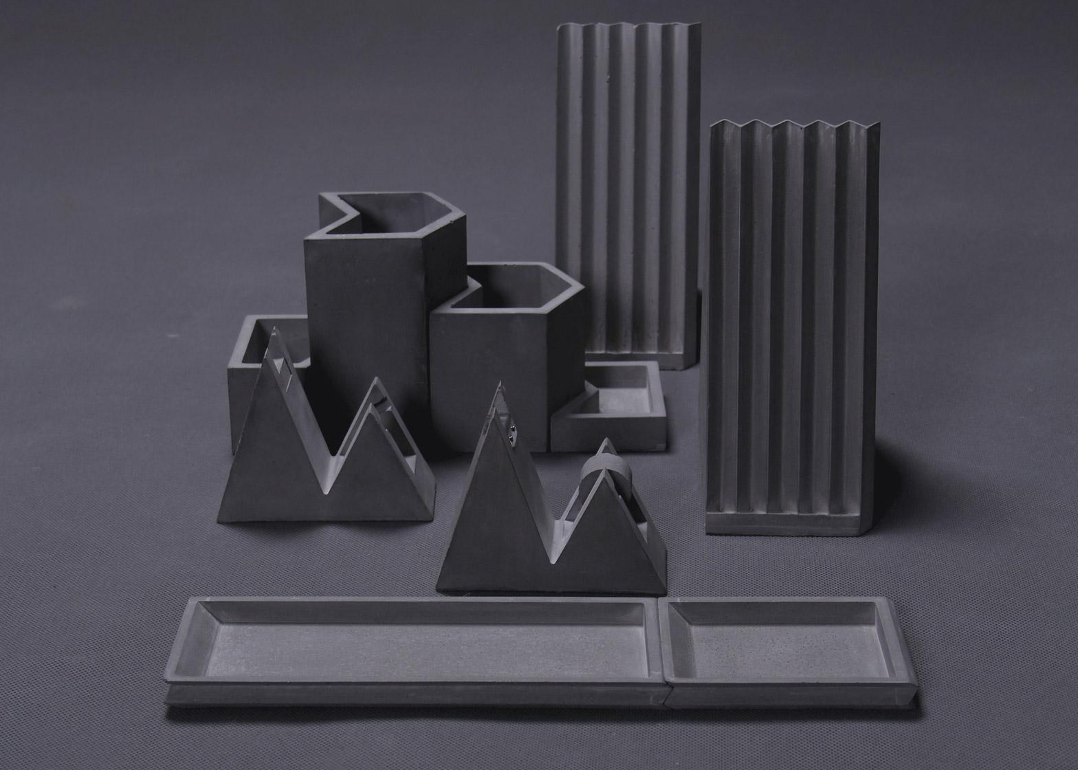 V-pleats stationery by Umn Design