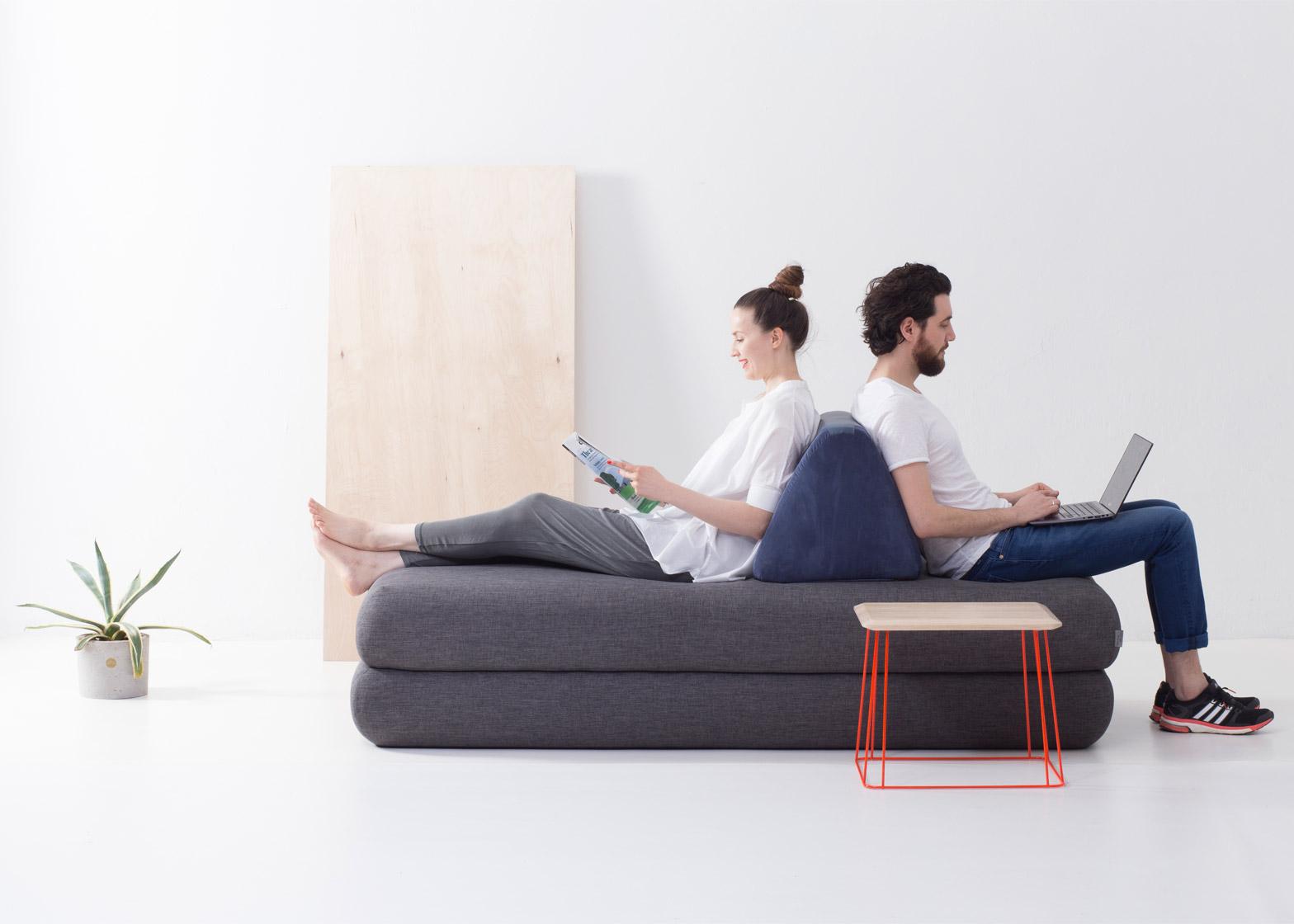 Urban Nomad sofa by Hannabi