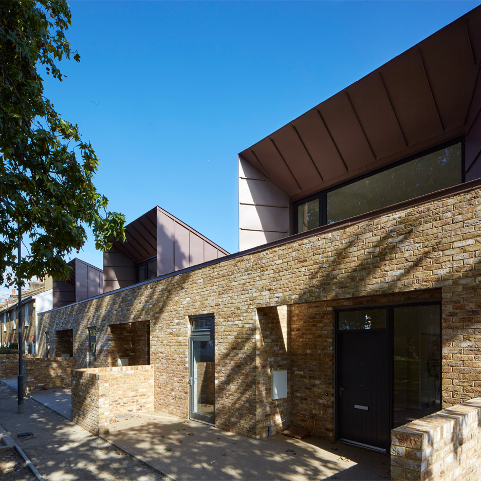 Greenwich Housing by Bell Phillips Architects. Photograph by Edmund Sumner