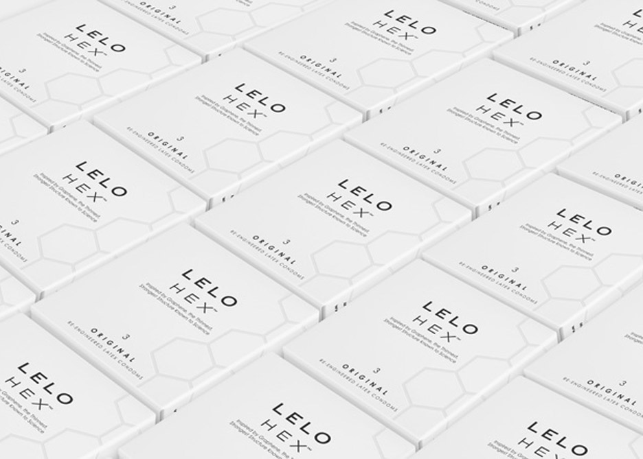Hex condom by Lelo