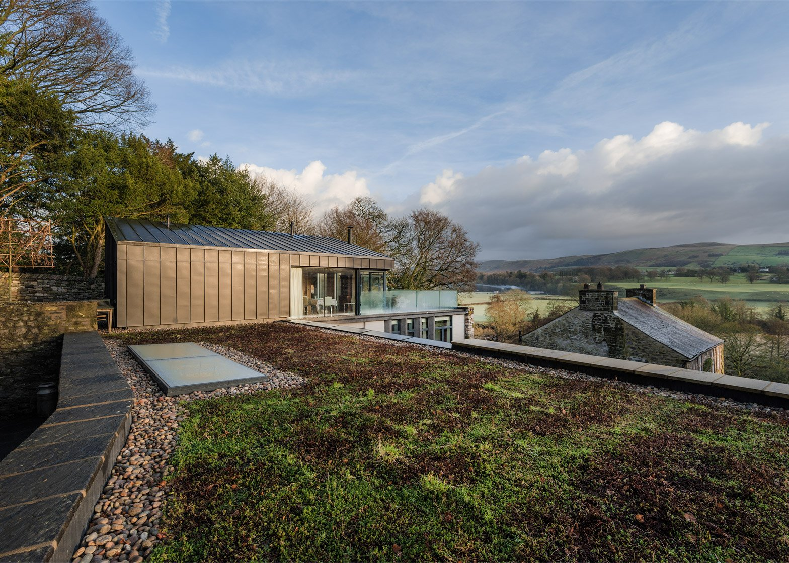 Private House, Cumbria by Bennetts Associates. Photograph by Brian Ormerod