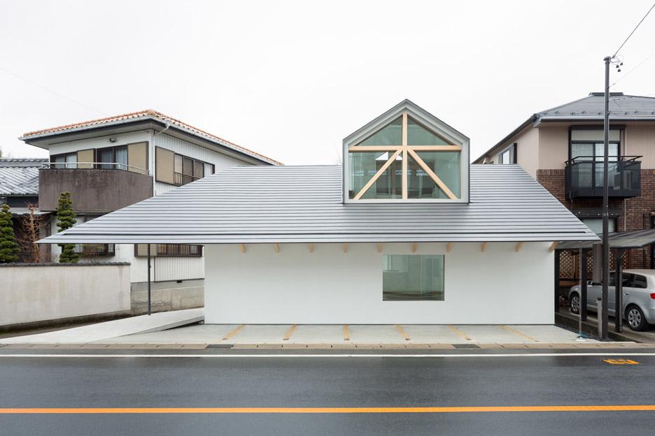 House with dormer window, Japan by Hiroki Tominaga