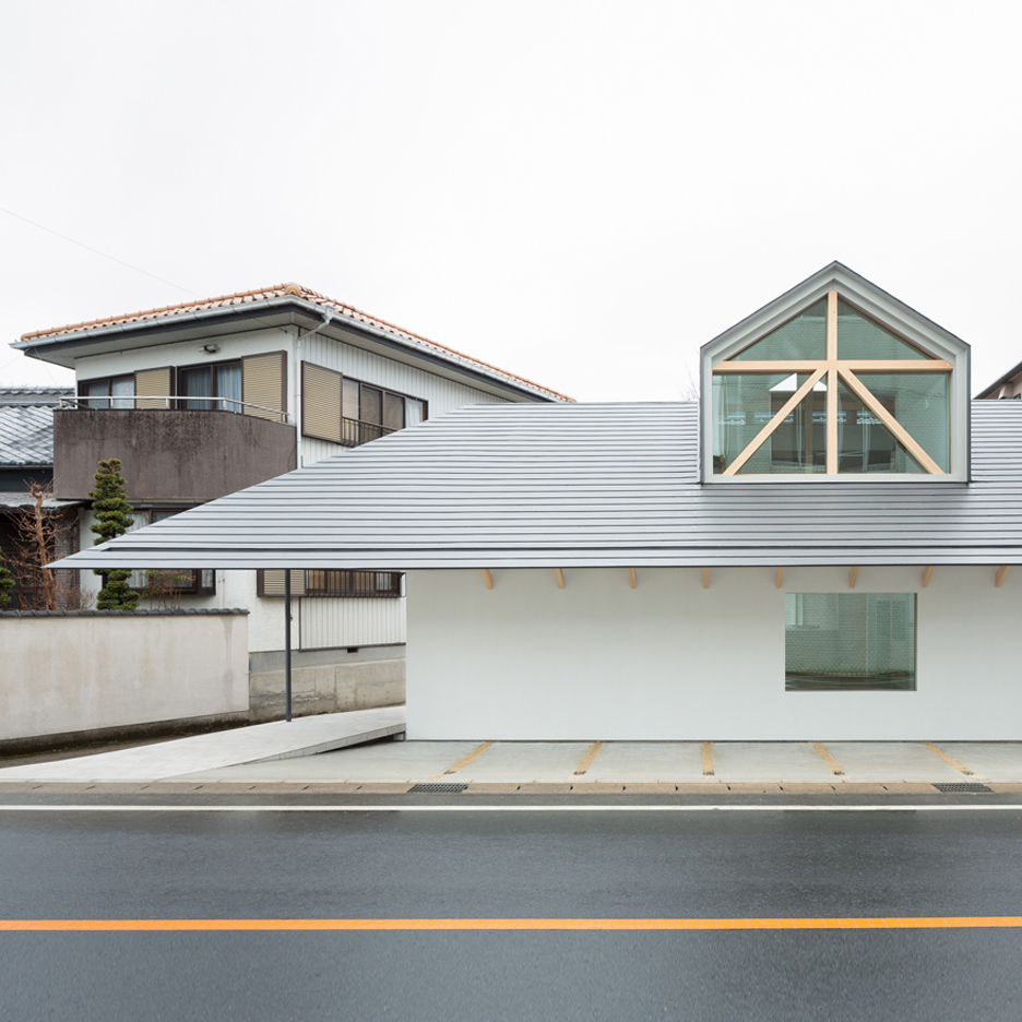 House with dormer window, Japan by Hiroki Tominaga