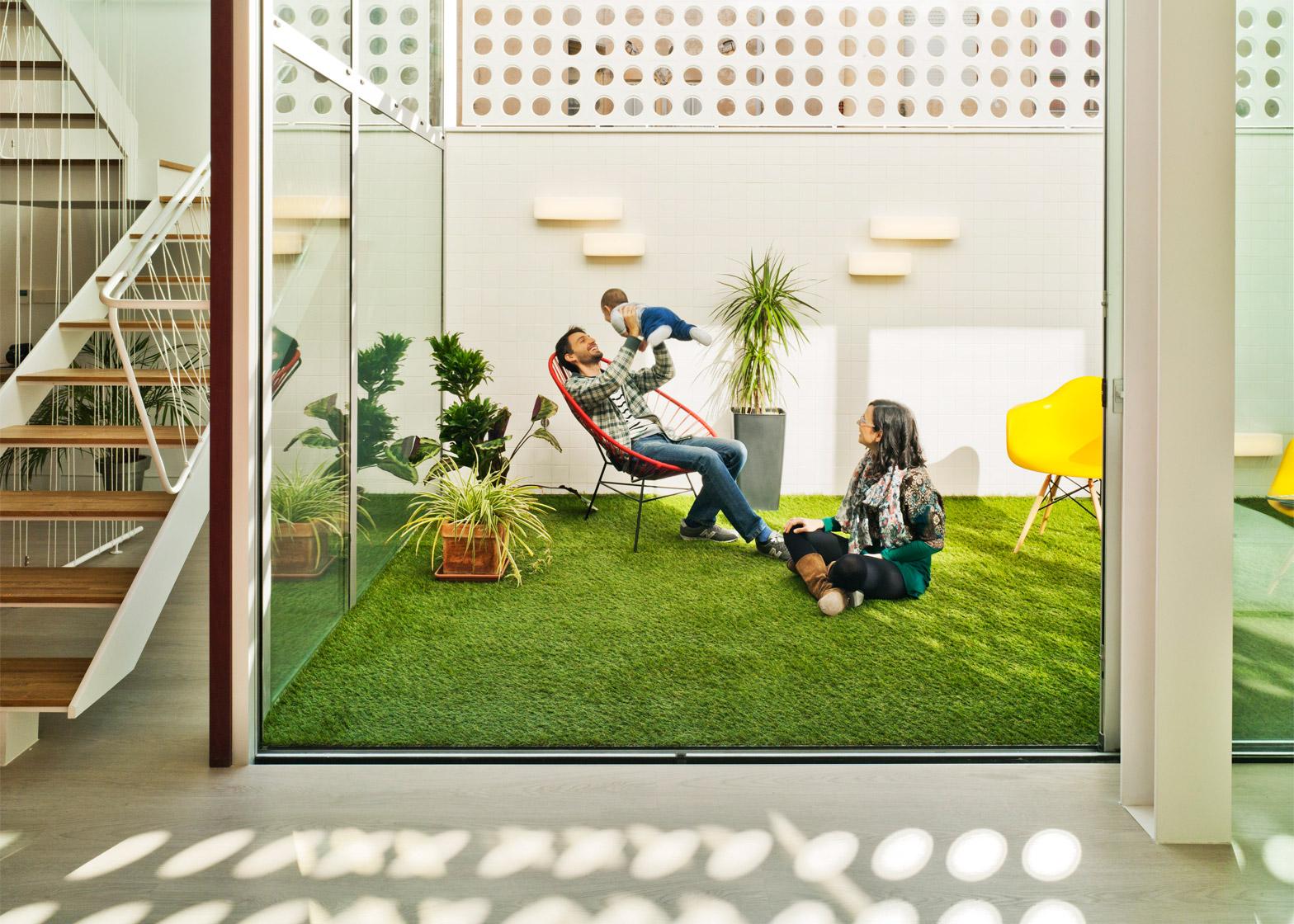 House F&M in Spain is designed by Luis Navarro Jover and Carlos Sánchez García