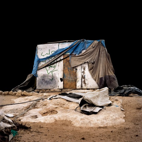 Alicja Dobrucka photographs the seemingly temporary dwellings of a West Bank village