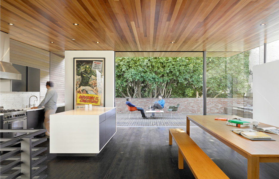 Hybrid Design graphic design office interior by Terry & Terry Architecture in San Francisco, USA