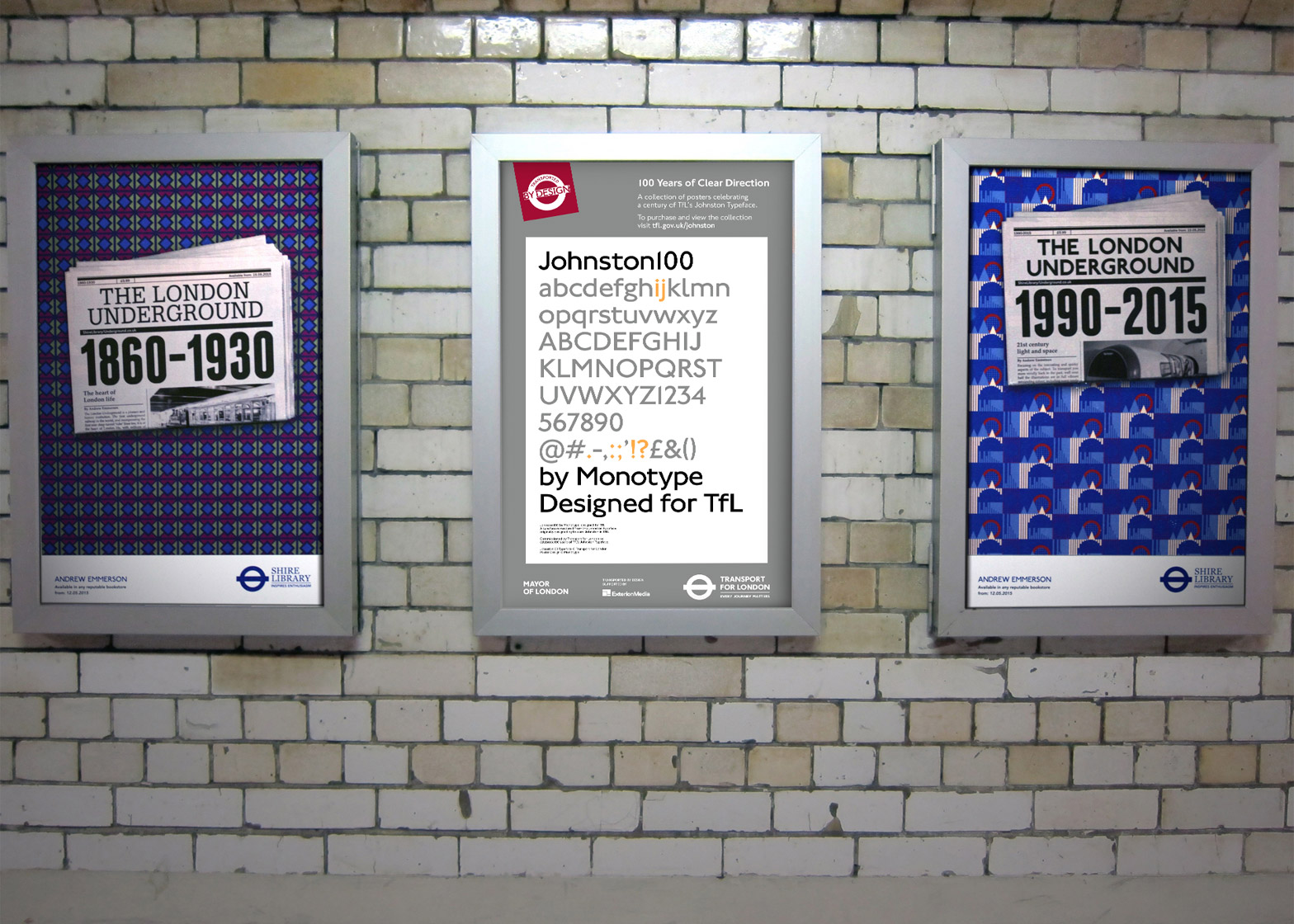 New Tfl typeface by Monotype