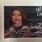 Zaha Hadid features on new Iraqi postage stamp