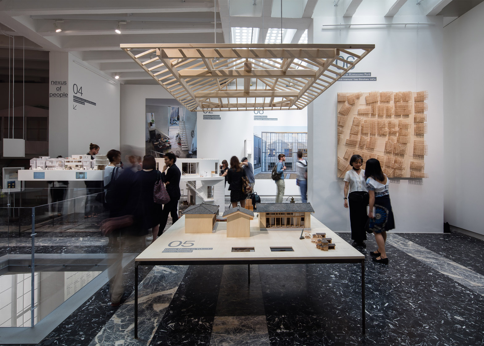 Japan pavilion at the Venice Architecture Biennale 2016