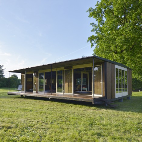 Jean Prouvé's demountable office rescued from swingers' club fate