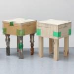 Micaella Pedros uses heat-shrunk plastic bottles to join furniture