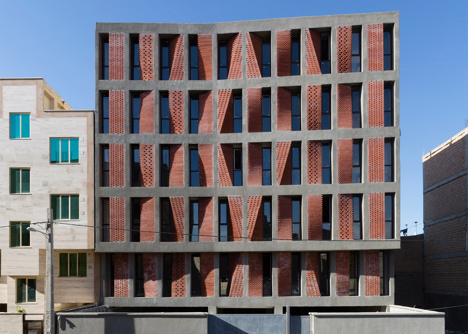 Kahrizak housing block in Tehran by CAAT Studio