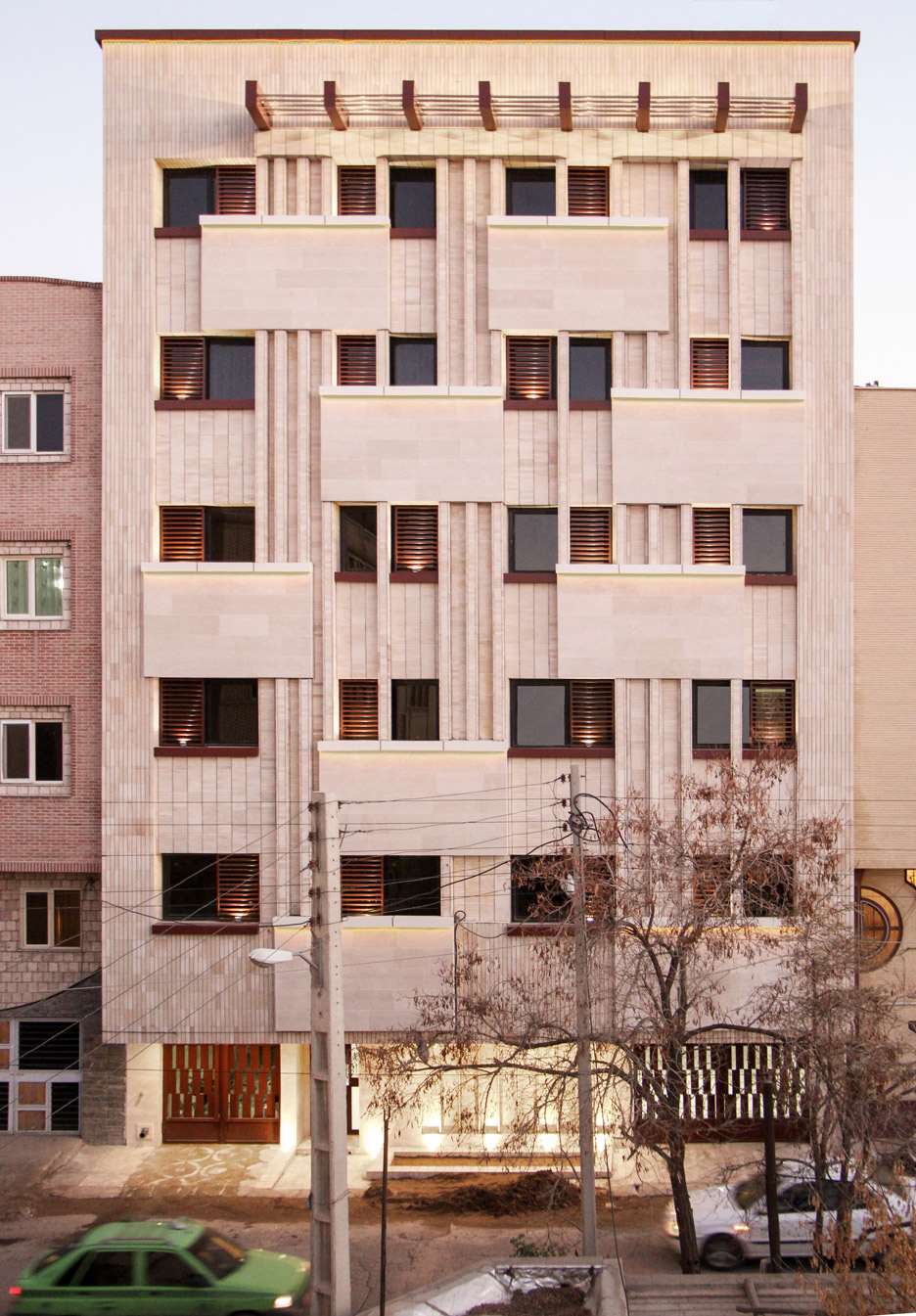 Khish-Khaneh Residential Building in Iran by Behzad Yaghmaei and Azadeh Mahmoudi