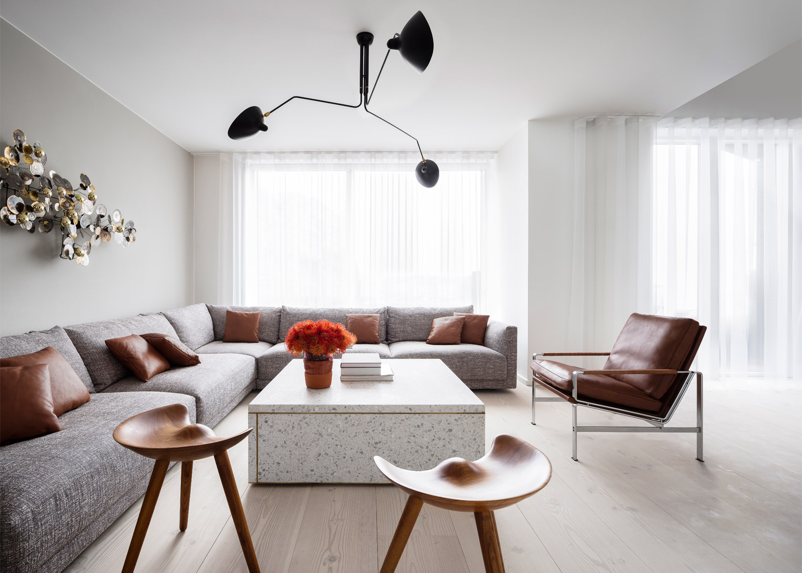 Studio David Thulstrup avoids Scandinavian furniture in Copenhagen apartment design