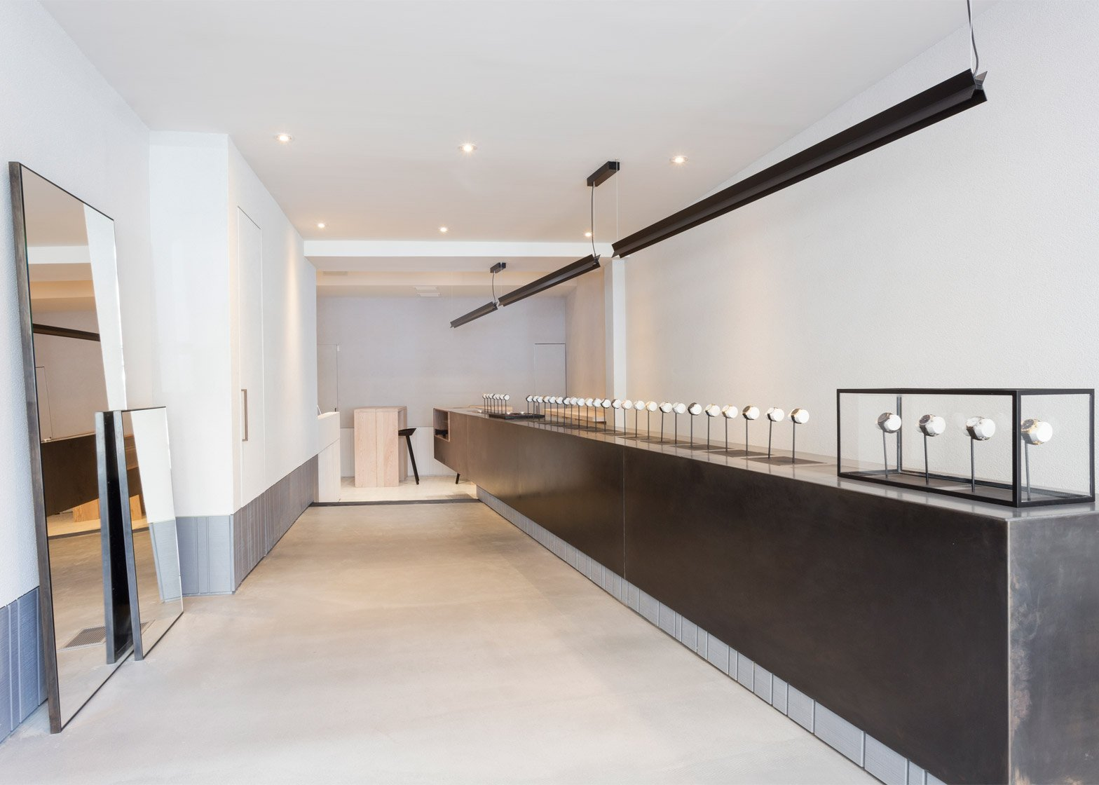 Larsson and Jennings' New York showroom