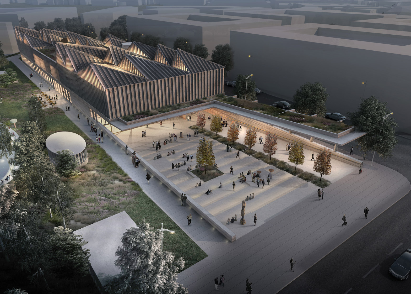 Adjaye Associates + AB3D win the Latvian Museum of Contemporary Art Design Competition Inbox x