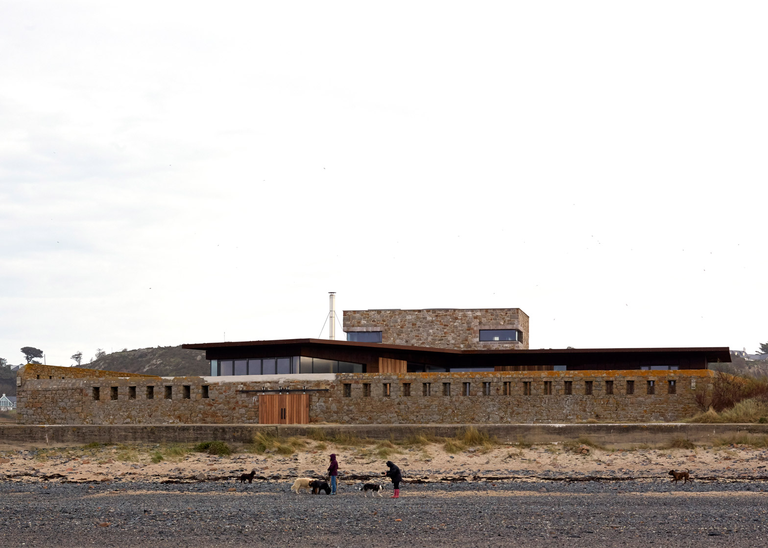 Le Petit Fort; Jersey, Channel Islands, by Hudson Architects