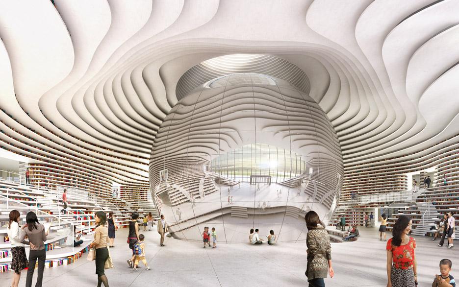 Library in China by MVRDV